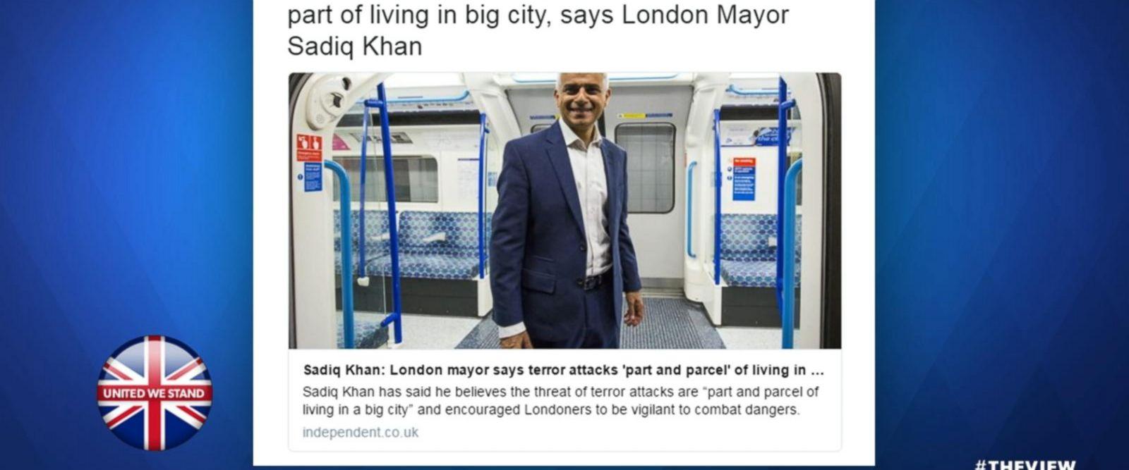 VIDEO: Trump Jr. slams London Mayor after terror attack