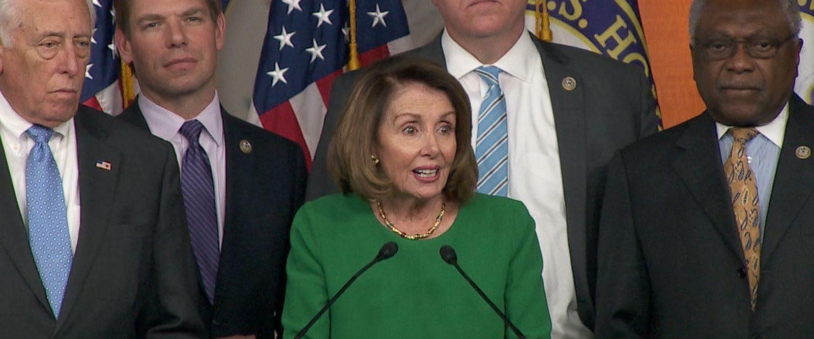 """""""We are very proud of the Affordable Care Act,"""" Democratic Leader Nancy Pelosi said."""