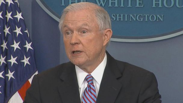 VIDEO: AG Sessions says sanctuary cities will lose federal funding