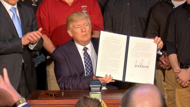 VIDEO: President Trump signs energy independence executive order