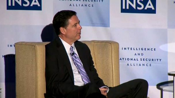 VIDEO: In a speech, FBI director James Comey said his bureau had to be above politics.
