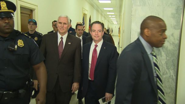 VIDEO: Republicans on Capitol Hill are in discussions with the White House to resuscitate the Obamacare repeal effort after being forced to pull their first attempt at a bill from the House floor nearly two weeks ago over a lack of support.