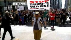 VIDEO: President Trump tweets response to protesters demanding to see his taxes