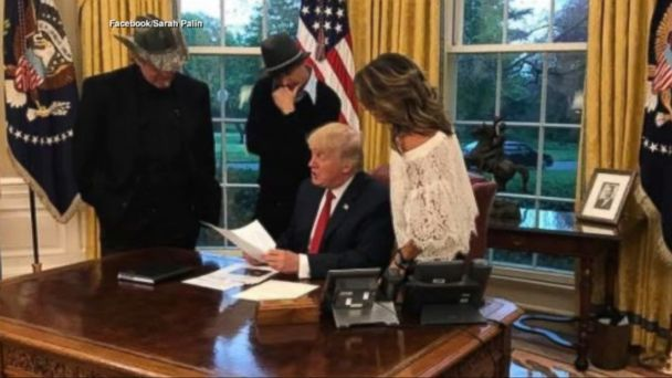 VIDEO: The setup for a comedy sketch became a political reality Wednesday, as the three conservative firebrands visited the White House for a private meeting with President Trump.