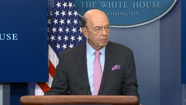 VIDEO: Secretary of Commerce Wilbur Ross told reporters in today's White House briefing that even though Canada is a
