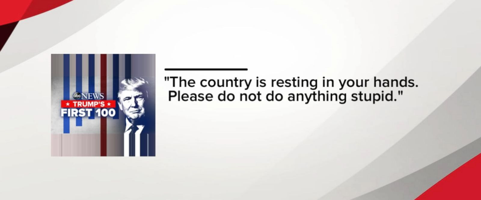 VIDEO: Messages to President Trump from Ohio voters