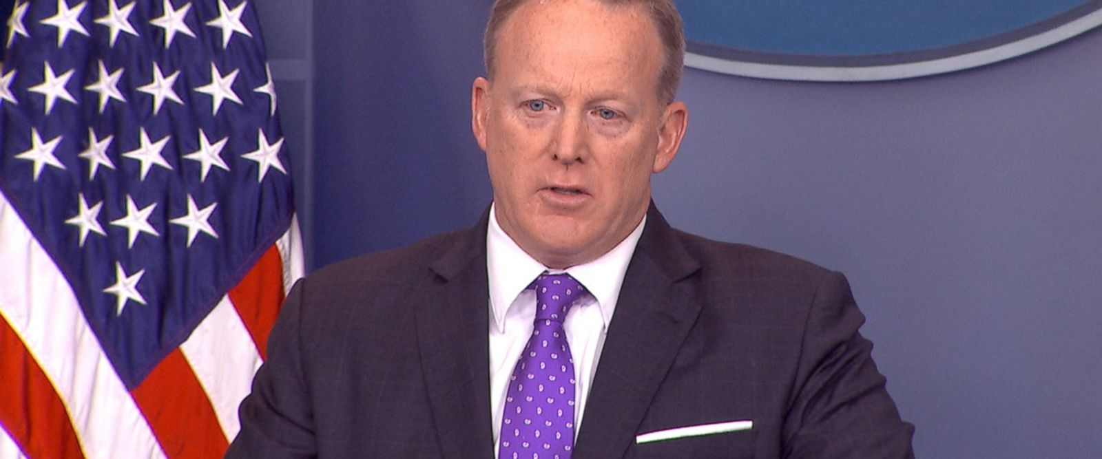 VIDEO: White House press secretary Sean Spicer shifted blame to the vetting of Trump's former national security adviser, Mike Flynn, to the Obama administration.