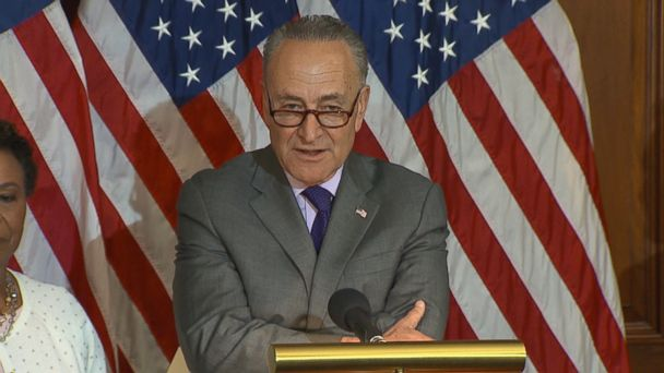 VIDEO: Democratic leaders criticized President Trump's first 100 days in office.