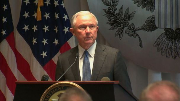 VIDEO: U.S. Attorney General Jeff Sessions pledged federal resources to crack down on the New York gang.