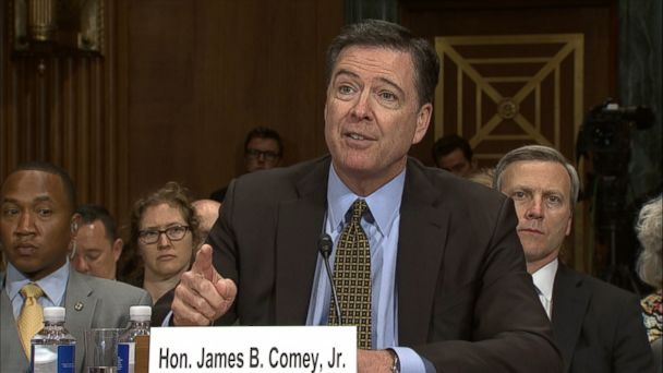 VIDEO: FBI Director James Comey said today it makes him
