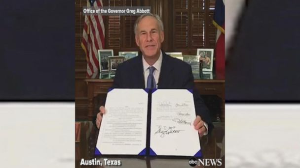VIDEO: Texas governor signs law banning 'sanctuary cities'