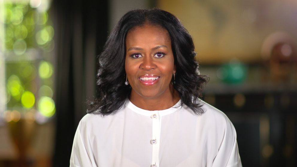 Buffering. Replay. Former First Lady Michelle Obama ...