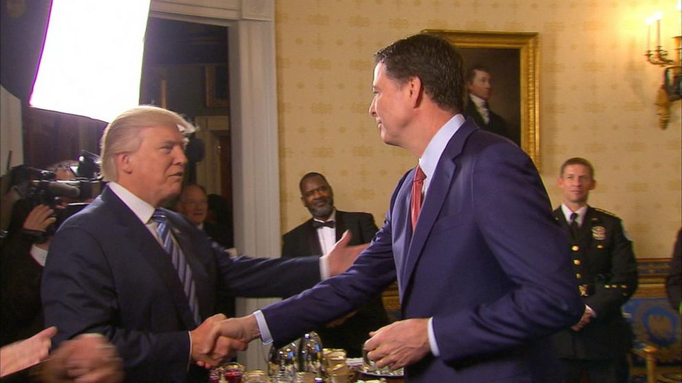 Image result for james comey and trump