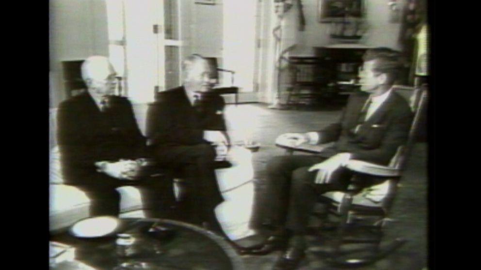 June 23 1983 JFK secret Oval Office tapes made public Video