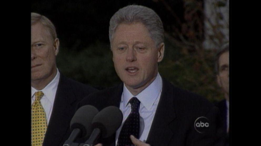 Dec. 15, 1998: Bill Clinton is impeached Video - ABC News