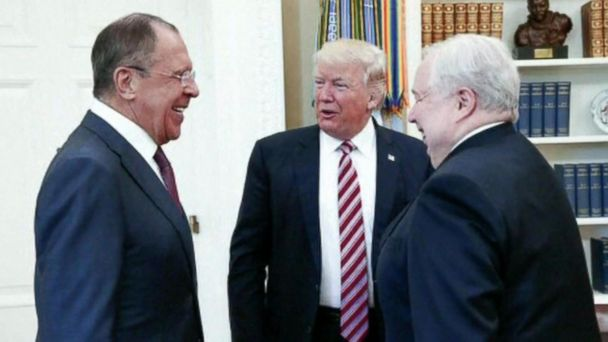 The New York Times reported on Friday that Trump told the Russians he