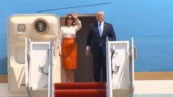 VIDEO: Trump embarks on high-stakes foreign trip