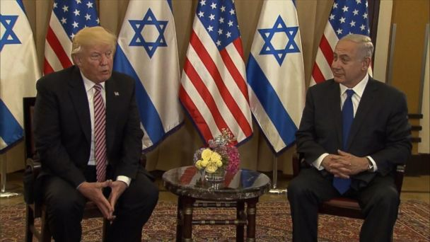 VIDEO: Inside President Trump's West Bank visit to push peace