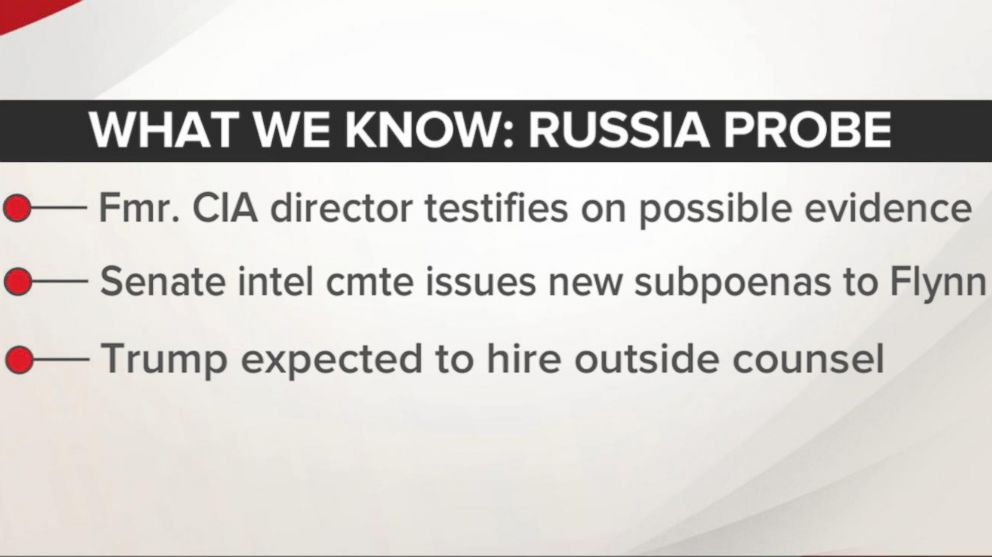VIDEO: Fmr. CIA Director reveals new details in Russia probe