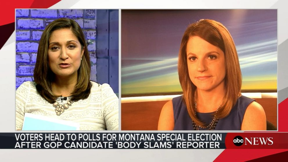 VIDEO: Montana GOP candidate allegedly 'body-slams' reporter