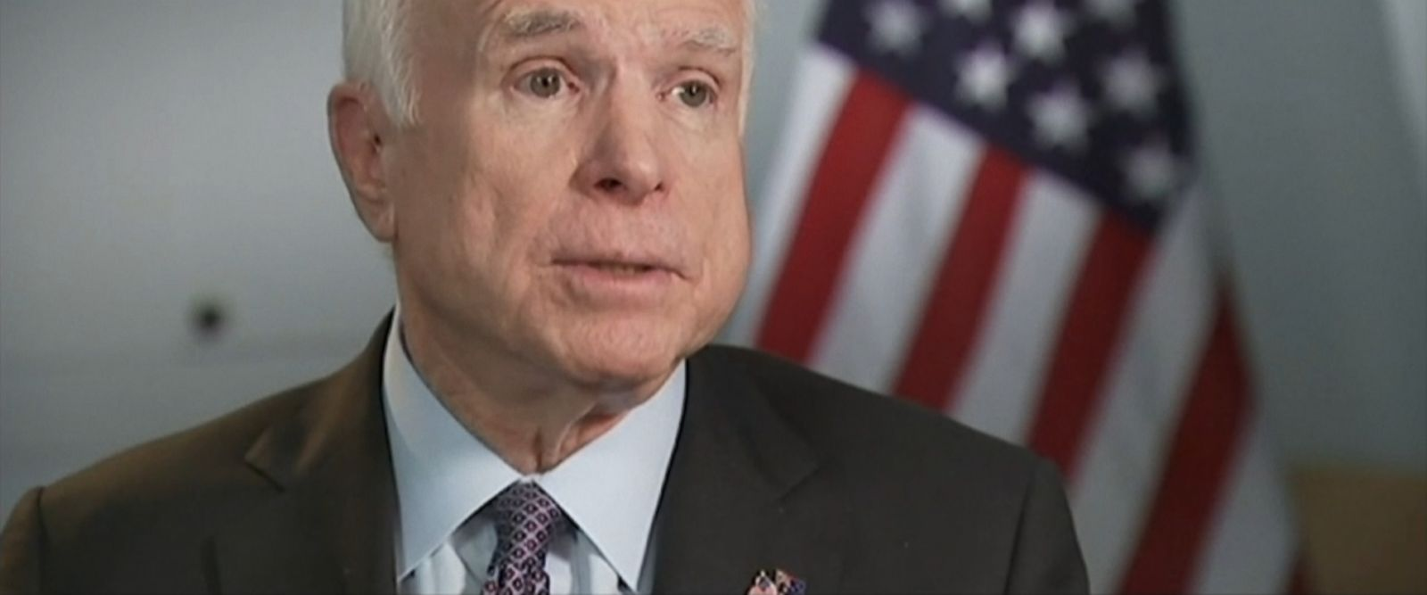 "While overseas in Australia for security talks, Sen. John McCain, R-Arizona, said he thinks Russian President Vladimir Putin is ""the premier and most important threat, more so than ISIS."""