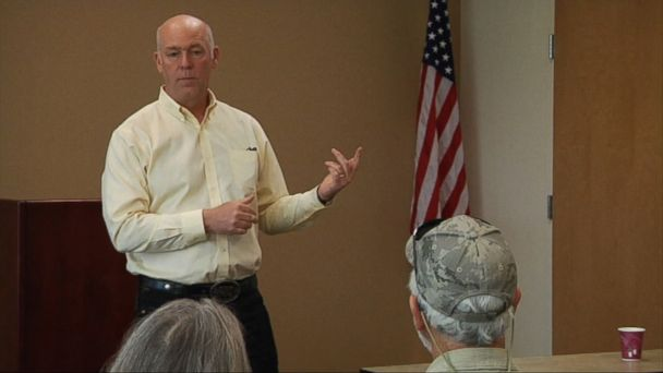VIDEO: The Montana congressman-elect was charged last month with assaulting Ben Jacobs.