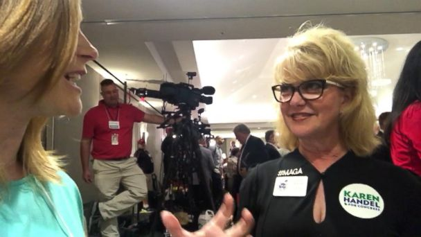 VIDEO: Republican supporters eagerly await Georgia election results