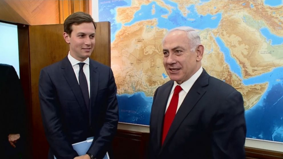 VIDEO: Jared Kushner, President Trump's senior adviser and son-in-law, arrived in Israel Wednesday morning, beginning a trip through which the administration hopes to move towards a peace deal between Israel and Palestine.