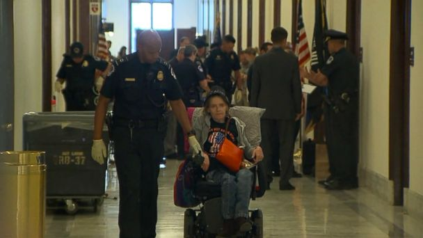VIDEO: 1.Protesters arrested outside Sen. McConnell's office