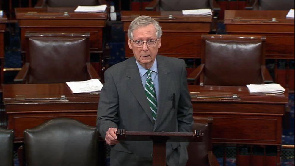 While Senate Majority Leader Mitch McConnell has indicated he's ready to vote on the bill in the coming weeks, Senate Minority Leader Chuck Schumer called the bill a