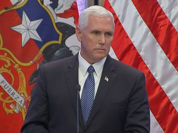 Pence ducks questions about Trump's controversial Charlottesville remarks