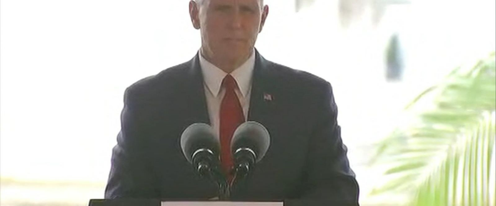 In Panama, the vice president spoke about the deadly attack in Spain.