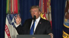 VIDEO: Trump details new policy for U.S. presence in Afghanistan