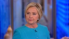VIDEO: Hillary Clinton was sure that she was going to win the 2016 election but didnt realize it wasnt going her way until election night, she said during an appearance on The View this morning.
