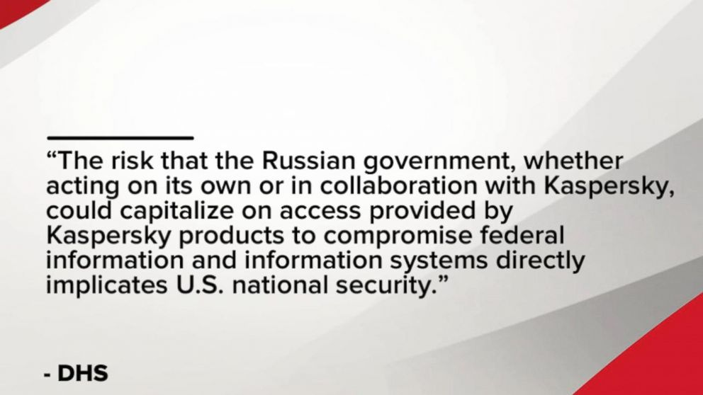 WATCH:  Federal government to cut ties with Russian software company