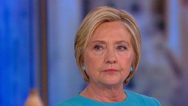 Politician Direct 170913_view_trump_northkorea_113300_16x9_384 WATCH: Hillary Clinton on giving Trump 'a chance to lead,' North Korea, Bernie Sanders' role in election ABC Politics  Politics