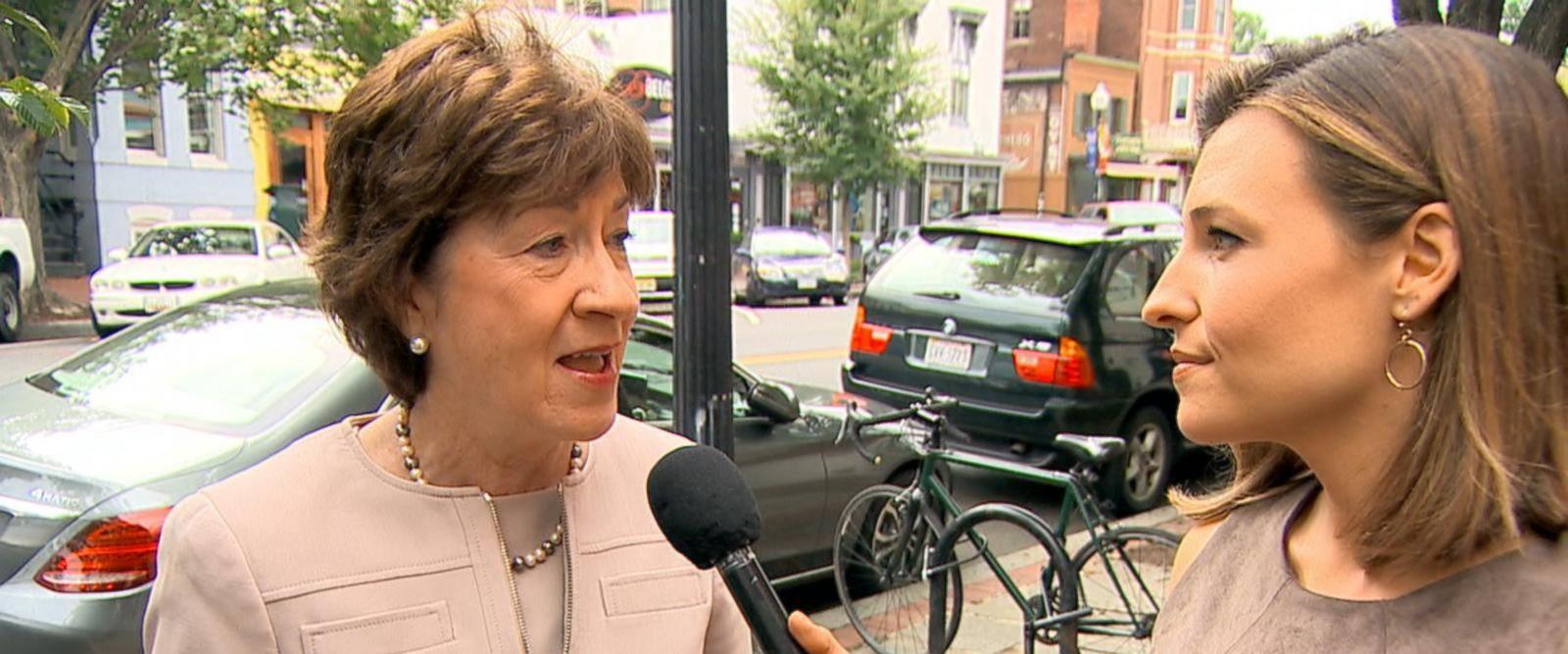 VIDEO: Sen. Collins talks skepticism about latest GOP health care proposal