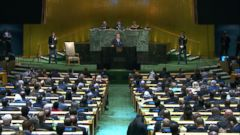 From calling Kim Jong Un a rocket man on a suicide mission to saying Iran is a murderous regime, here are the biggest moments from President Donald Trumps speech to the United Nations General Assembly.