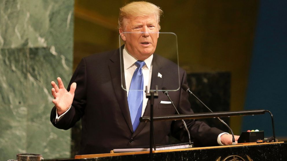WATCH:  The Note: Trump introduces his 'America first' to a global stage