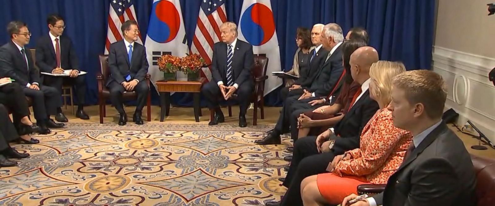 VIDEO:Trump, South Korean President Moon playing 'good cop/bad cop' with North Korea