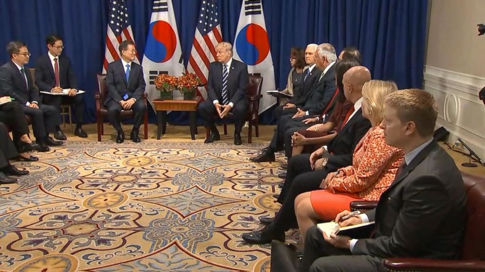 Trump, South  Korean  President playing good cop, bad cop with North Korea