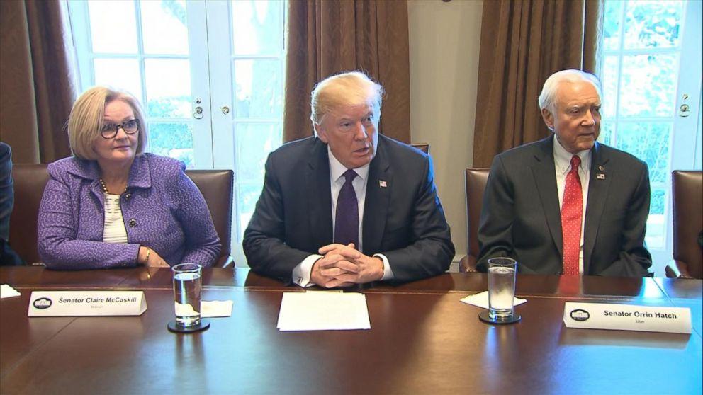 Analysis of Trump's meeting with Senate Finance Committee on tax overhaul