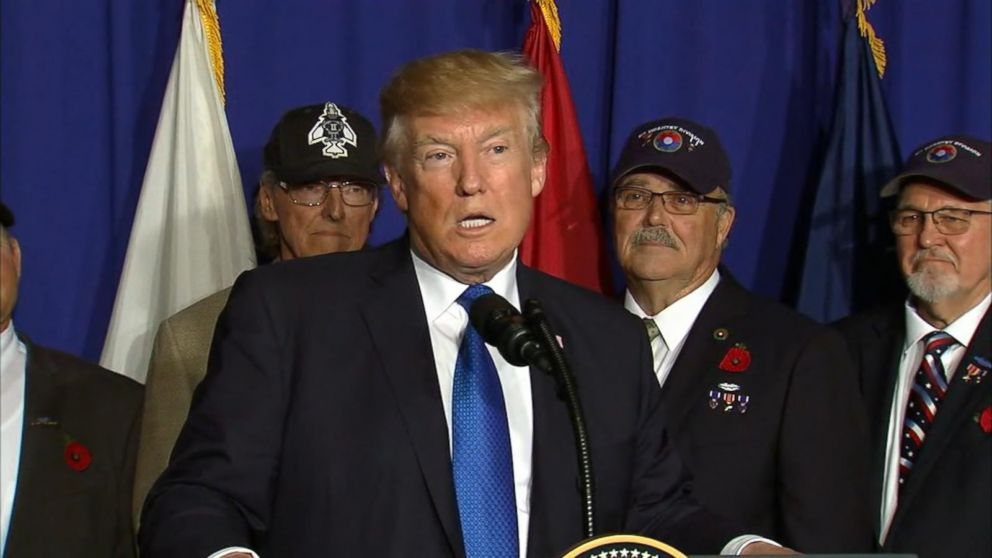Trump marks Veterans Day with commemoration in Vietnam
