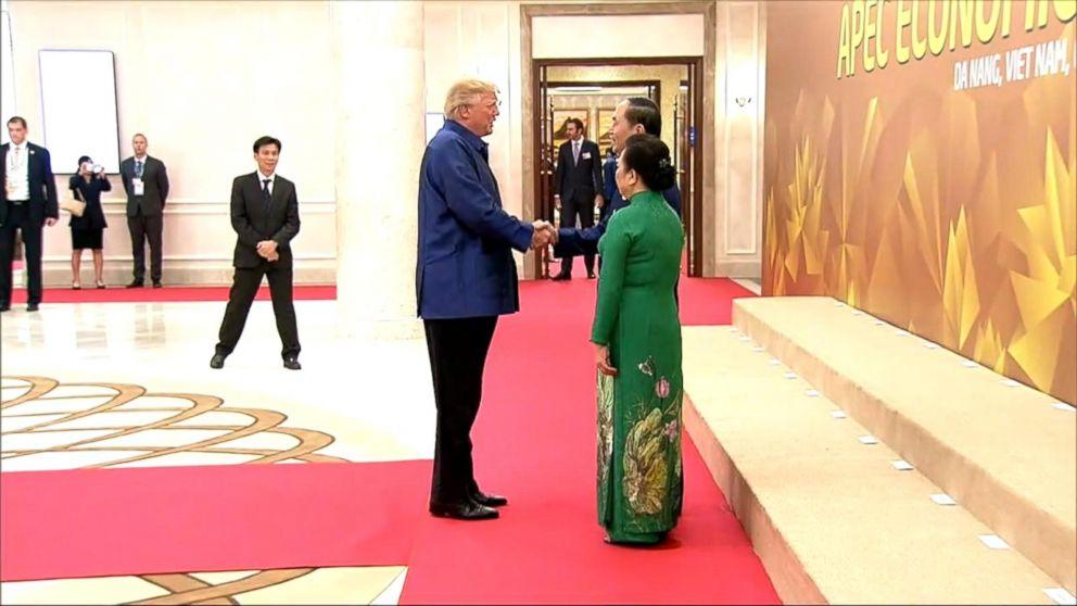 President Trump in Vietnam  amid regional tensions