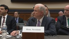 Heres a look at five key moments from Sessions testimony Tuesday.