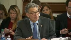 VIDEO: A female radio host claims Sen. Al Franken, D-Minn., made a lewd gesture while she was sleeping aboard a military plane on her way home from a USO tour several years ago.