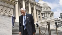 VIDEO: Rep. John Conyers, D-Mich., is denying a report that alleges he sexually harassed a female aide, leading to a five-figure payout funded by taxpayers.