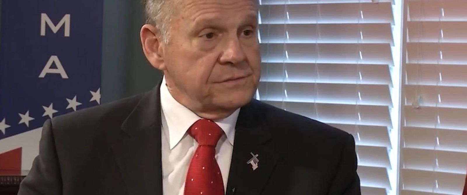 VIDEO: Roy Moore asserts he knows none of women making allegations