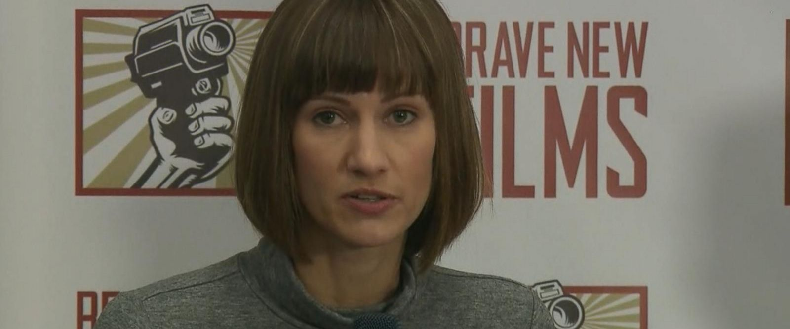 VIDEO: Rachel Crooks, Jessica Leeds and Samantha Holvey appeared at a news conference Monday.