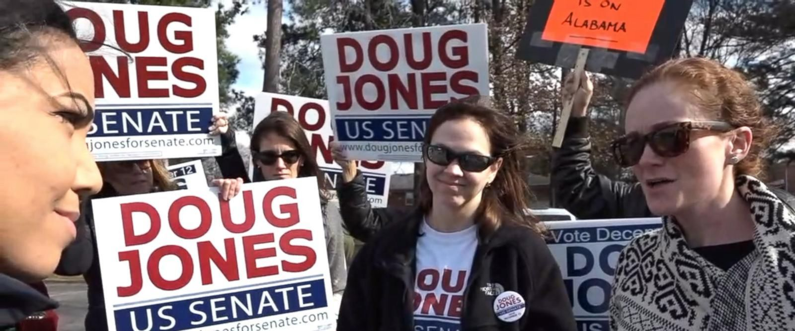 VIDEO: Doug Jones voters look to their candidate to bring change to the state of Alabama
